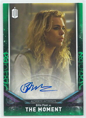 Doctor Who Signature Series 2018 Billie Piper as The Moment Autograph Card 28/50
