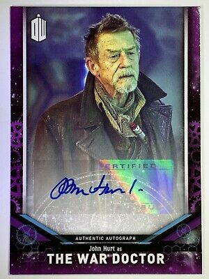 Doctor Who Signature Series 2018 John Hurt as The War Doctor Autograph Card