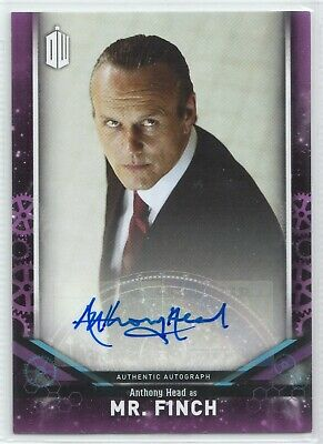 Doctor Who Signature Series 2018 Anthony Head as Mr. Finch Autograph Card