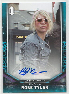 Doctor Who Signature Series 2018 Billie Piper as Rose Tyler Autograph Card 23/25