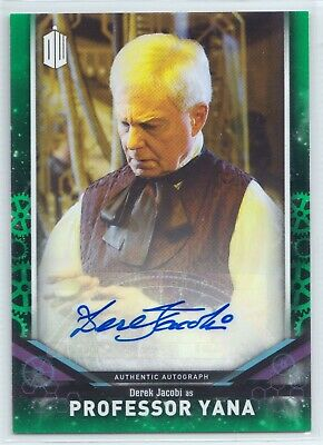 Doctor Who Signature Series 2018 Derek Jacobi Professor Yana Autograph Card /50
