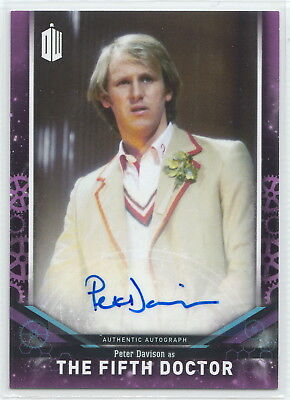 Doctor Who Signature Series 2018 Peter Davison - The Fifth Doctor Autograph Card