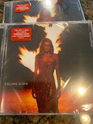 ***BRAND NEW - FACTORY SEALED CD*** Courage by Celine Dion