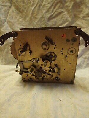 Old Clock Movement For Spares Or Repairs No 2