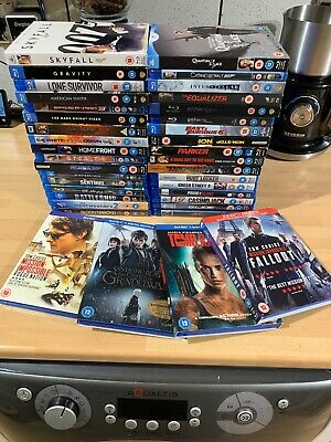 38 Blu-Ray DVD's Very Goof Condition, Most Only Watched Once. X38 BluRay DVDs