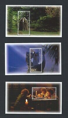 New Zealand 2001 UMM Lord of the Rings sg 2458/6 Sheetlets