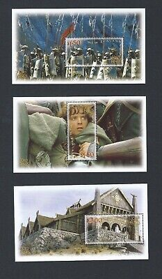 New Zealand 2002 UMM Lord of the Rings sg 2550/5  Sheetlets