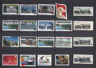 B484 Canada /  A Small Collection Early & Modern Used