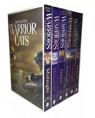 Warrior Cats Series 2 Collection 6 Books By Erin Hunter Set Prophecy Paper Back