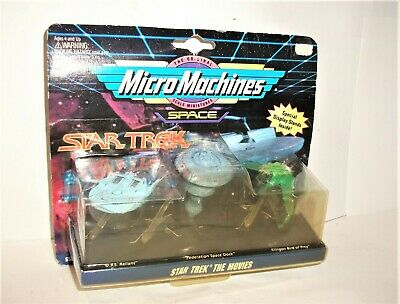 Micro Machines SPACE Star Trek The Movies *sealed*