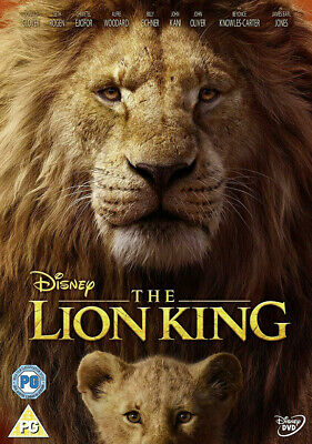 THE LION KING DVD - 2019 Edition - Region 2 UK - New and Sealed