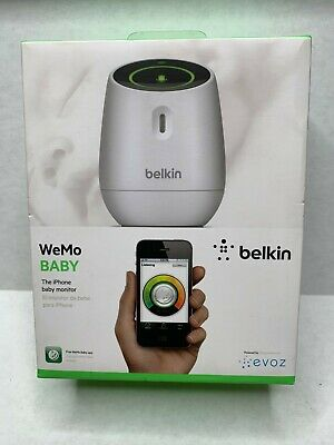 Belkin WeMo Baby Monitor for Apple iPhone, iPad, and iPod Touch