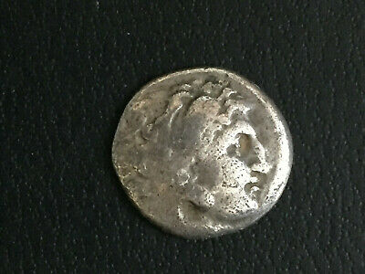 ANCIENT GREEK AR SILVER DRACHM COIN ALEXANDER THE GREAT affordable