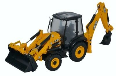Oxford Diecast JCB 3CX Excavator digger bagger pelle 1:76 oo scale