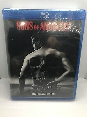 Sons of Anarchy The Final Season Blu-ray Sealed