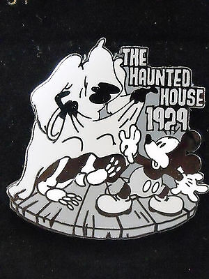 Disney 100 Years of Dreams Trading LE Pin #38 The Haunted House 1929 Mickey TDS
