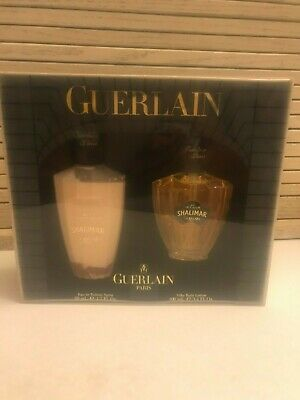 Guerlain Gift Set, Shalimar, Paris, Body Lotion And Perfume, In Box, Not Opened
