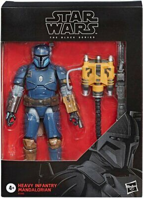 """Star Wars - 6"""" The Black Series Heavy Infantry Mandalorian Deluxe Action Figure"""