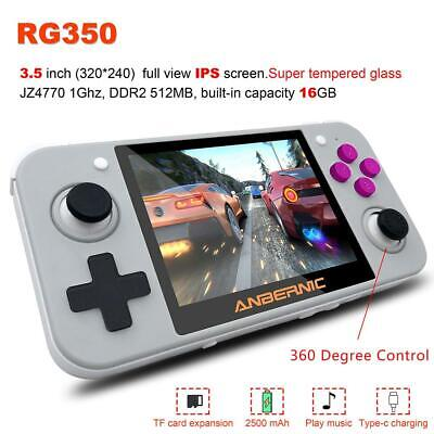 """3.5"""" RG350 IPS Retro Games Handheld Video Games Upgrade Game Console 16G #s"""