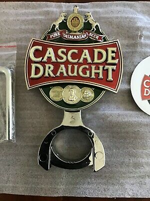 Cascade Draught 3D Beer Tap Sign