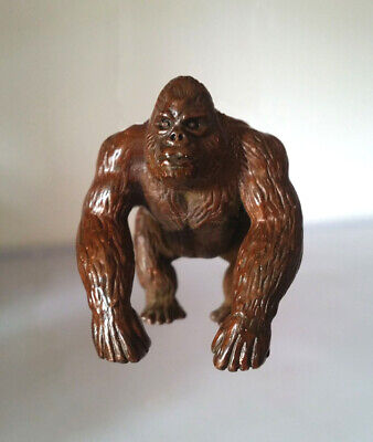 Collectables China Old Red Copper Hand Carved justice King Kong Statue z938