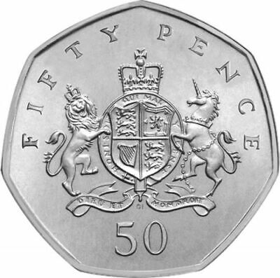 Christopher Ironside 50p Coin 2013 Royal Coat Of Arms
