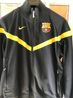 Nike Barcalona Team Jacket Tracksuit Top Mens Size Large