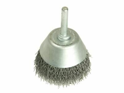 Cup Brush with Shank D50mm x 20h x 0.30 Steel Wire LES435162