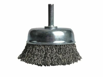 X36040 Wire Cup Brush 75mm x 6mm Shank B/DX36040