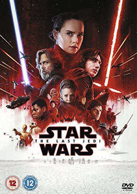 Star Wars The Last Jedi DVD NEW