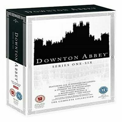 Downton Abbey Series 1 To 6 Complete Collection Dvd [Uk] New Dvd