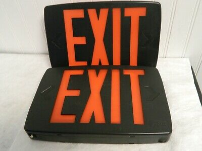 Lithonia Thermoplastic LED Exit Sign/ Battery Backup 427485