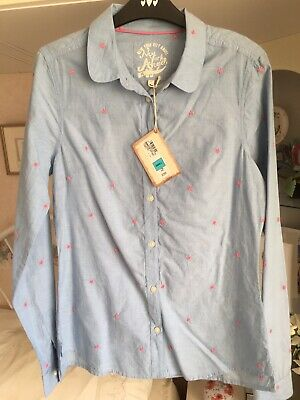 Marks & Spencer Young Girls Shirt / Blouse Size Small Bnwt