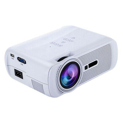 Mini LED Video Projector Home Theater Support 1080P HDMI/USB/SD Card/VGA/AV
