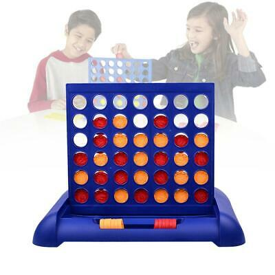 Connect 4 Row Grid Board Game Plastic Family Party Travel Outdoor Garden Toy