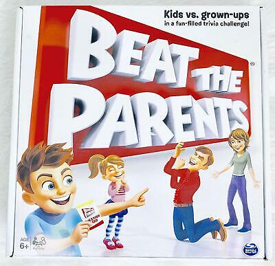 Spin Master Games Beat The Parents Game Board Family Fun Kids Children Players