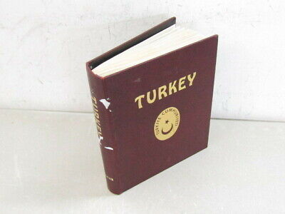 Nystamps Turkey stamp collection with mint Minkus Album