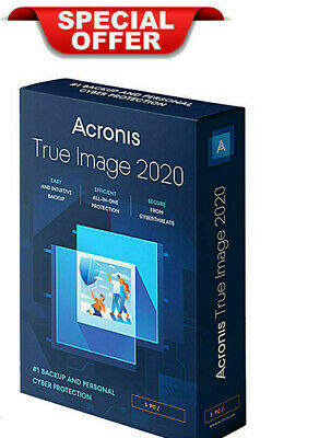 Acronis True Image 2020 |Official Download | Lifetime License | DELIVERY 10 sec