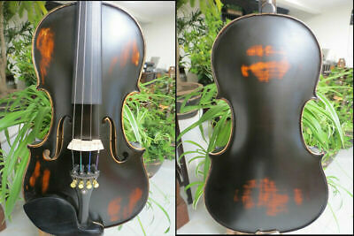 Yinfente Black Electric Silent Violin 4//4 Sweet Sound Free Case Bow Cable #EV17