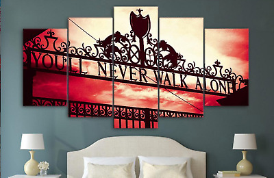 You Will Never Walk Alone Liverpool FC Anthem Sport Canvas Wall Art