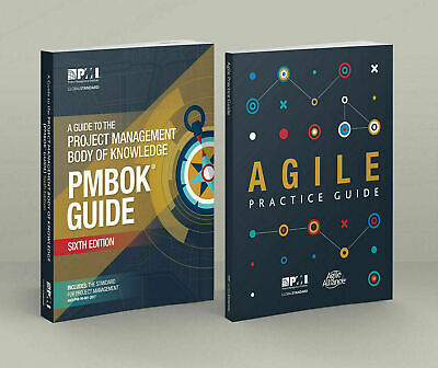 ²PMBOK PMI Guide 6th Edition 2018 + Agile Practice Guide +1440 PMP Question Bank