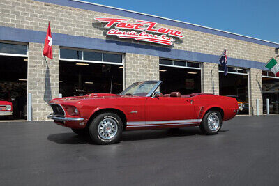 1969 Ford Mustang GT Convertible 1969 Ford Mustang GT Convertible Marti Report Correct Color Combo California Car