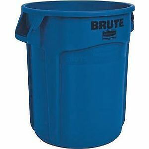 Rubbermaid Cubo multiusos 76l PE azul apilable H.580xD.495mm, FG262073BLUE