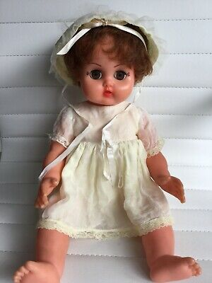 Vintage Baby Doll - C -1940 - Original Outfit