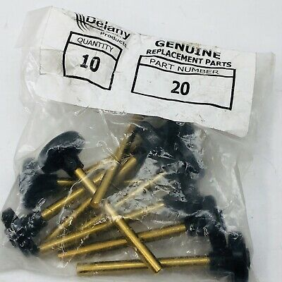 Lot Of 10 Delany 46927255 Flusboy Auxiliary Relief Valve