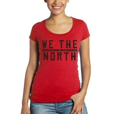 Toronto Raptors Majestic Threads Women's Hometown Slogan Scoop Neck Tri-Blend