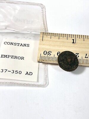 Ancient Roman Empire Coin - 337-350 AD Constant Copper Emperor - Fast Shipping3