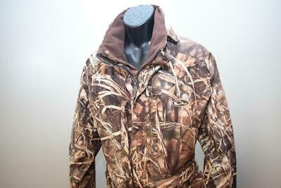 29518 Mens Drake Waterfowl Magnattach Hunting Outdoor Full Zip Jacket Size XL