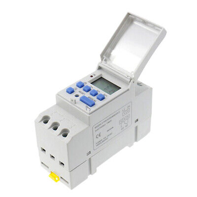 1X Digital Timer Switch 24V Manual Electric Programmable Power point 7 Days