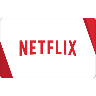 Selling $30-$100 Netflix Gift Cards For 15% Deliver Within 5 Hours